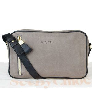 See By Chloé Leather Shoulder Bag Brown